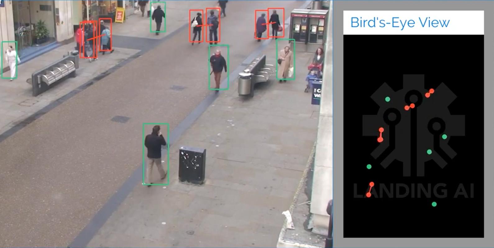 Machine Learning pode conferir se você está praticando o distanciamento social apropriado no trabalho