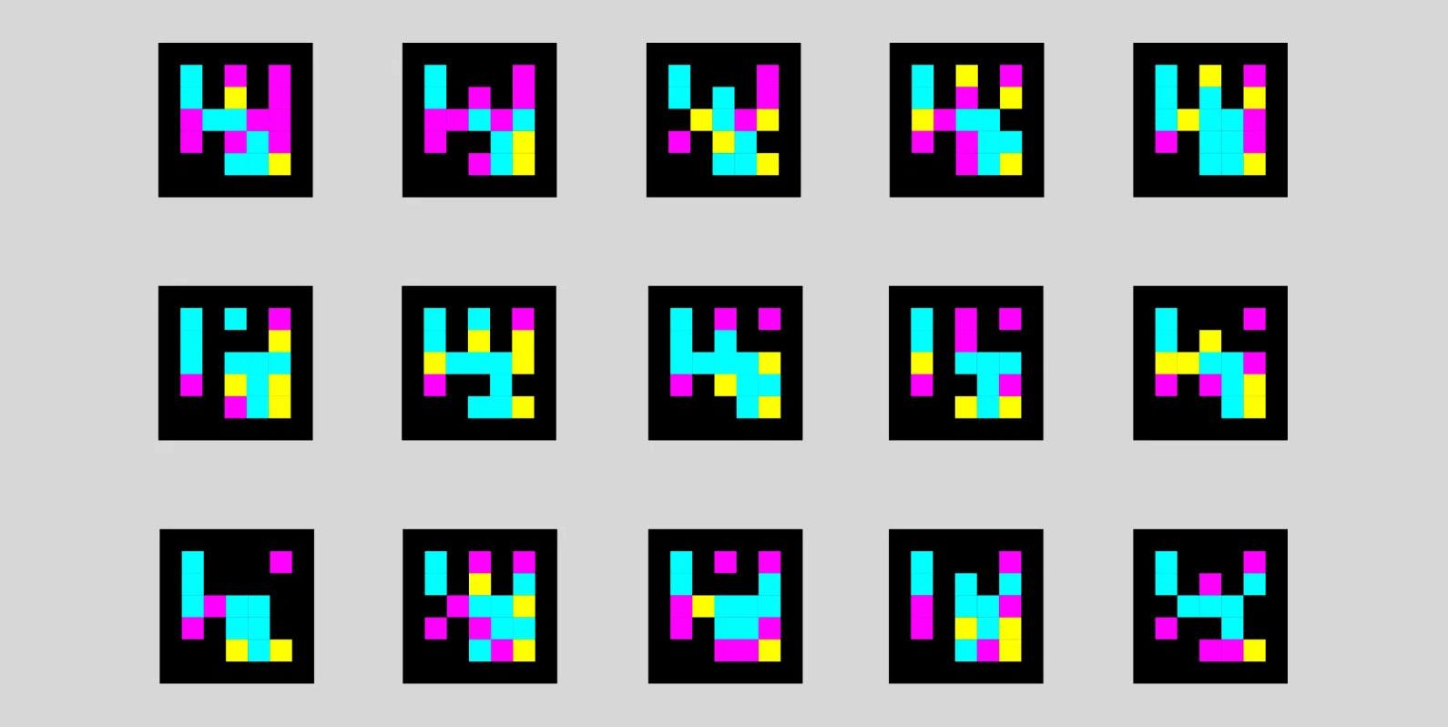Adesivos coloridos estão ajudando pessoas com deficiência visual a se localizarem