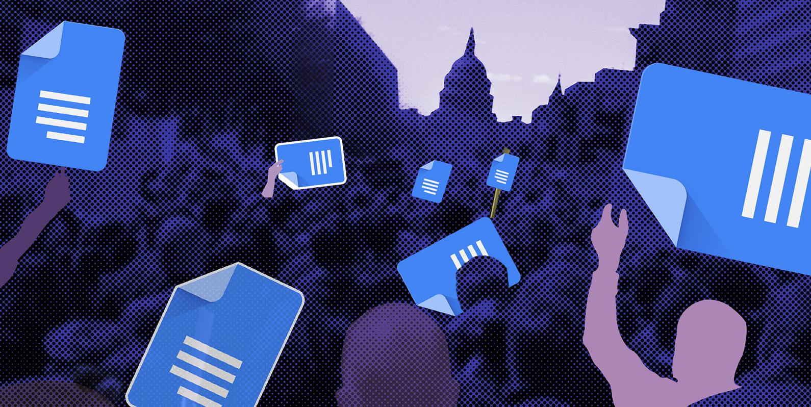 Como o Google Docs se tornou a mídia social da resistência