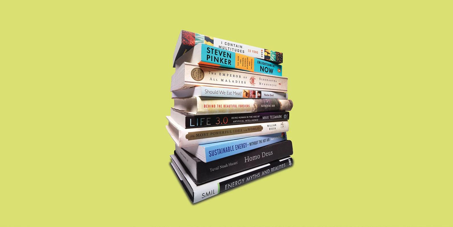 10 dos livros favoritos de Bill Gates sobre tecnologia