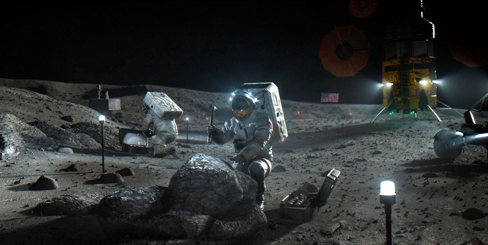Isso é o que a NASA quer fazer quando chegar à Lua