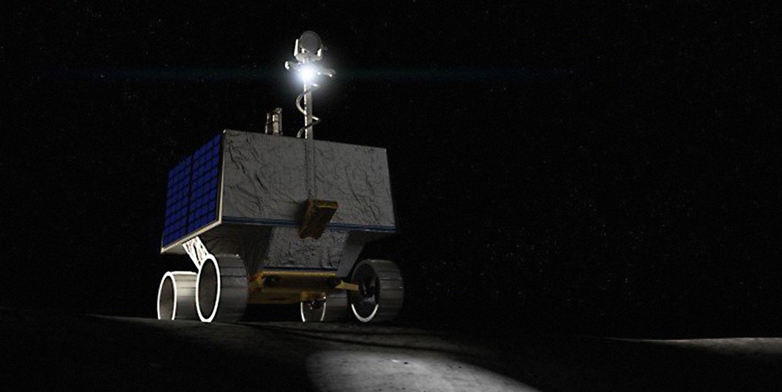O próximo rover lunar da NASA usará um software de código aberto