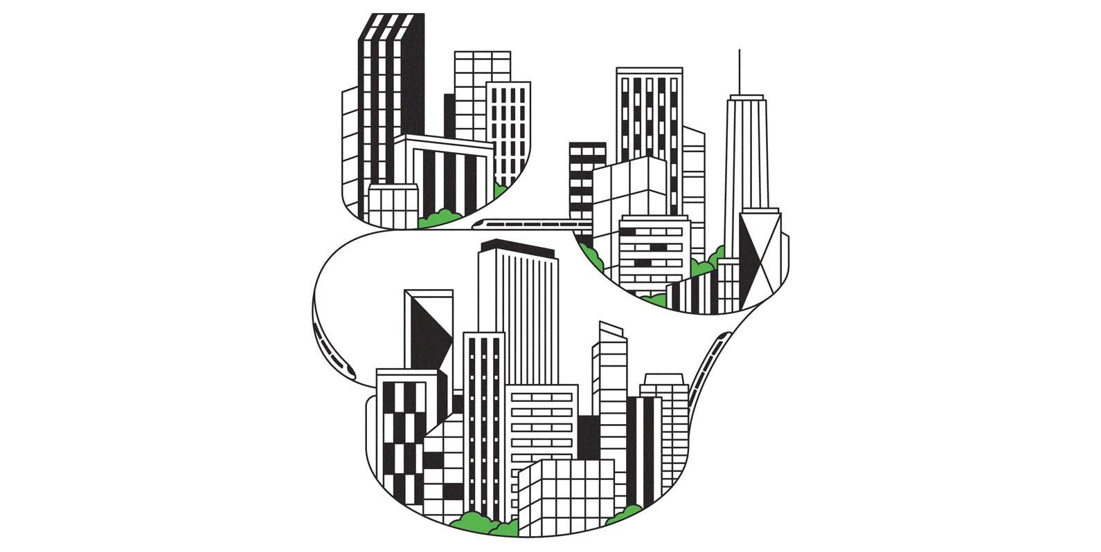O que é maior do que uma megacidade? Aglomerados urbanos planejados da China