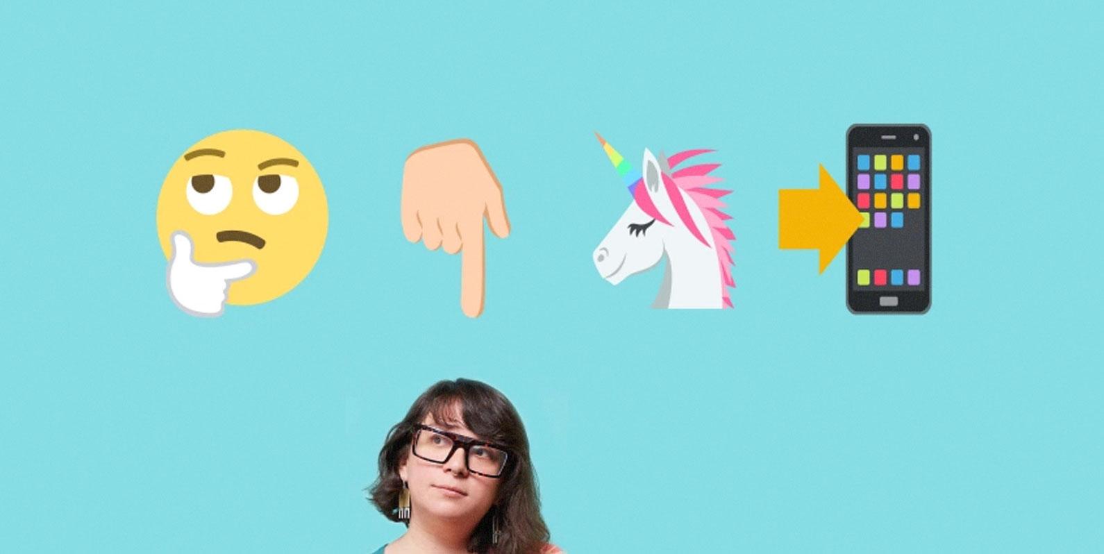 Conheça a mulher que decidirá quais emojis usaremos