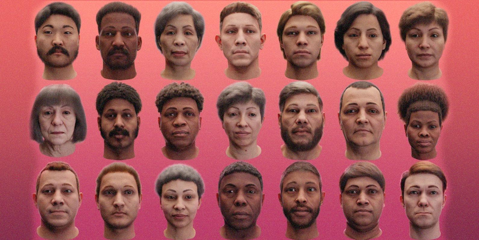Esses falsos e assustadores humanos anunciam uma nova era na Inteligência Artificial
