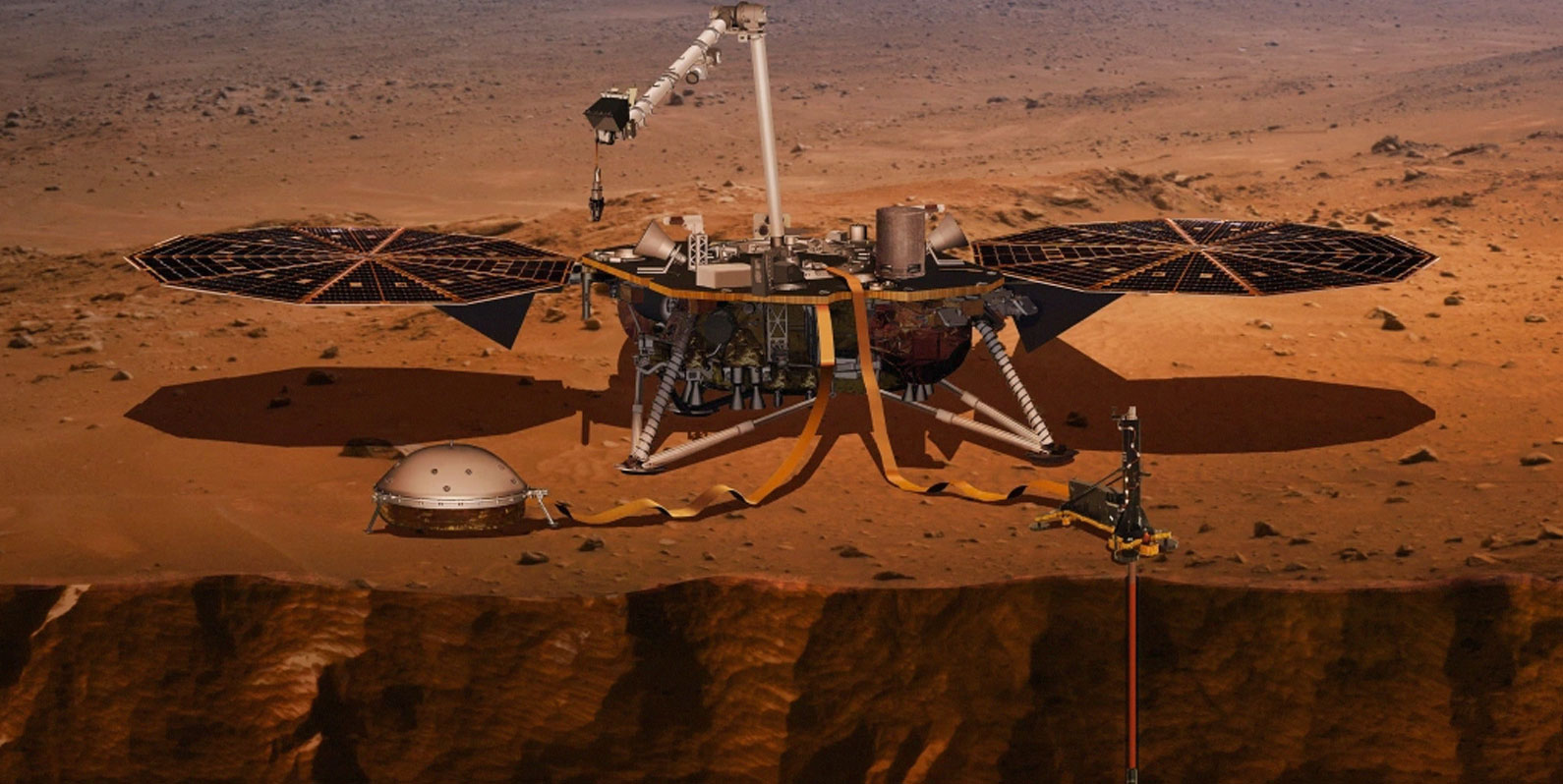 Conseguimos ter uma melhor ideia do interior de Marte