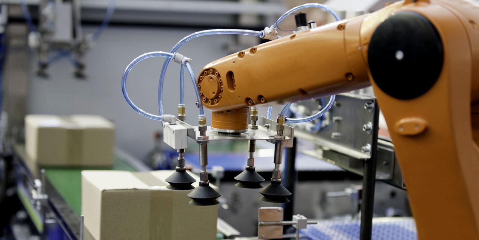 Uma nova geração de robôs com Inteligência Artificial (IA) está assumindo o controle dos armazéns
