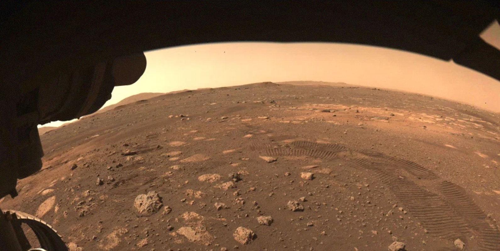O rover Perseverance da NASA finalmente coletou um pedaço de Marte