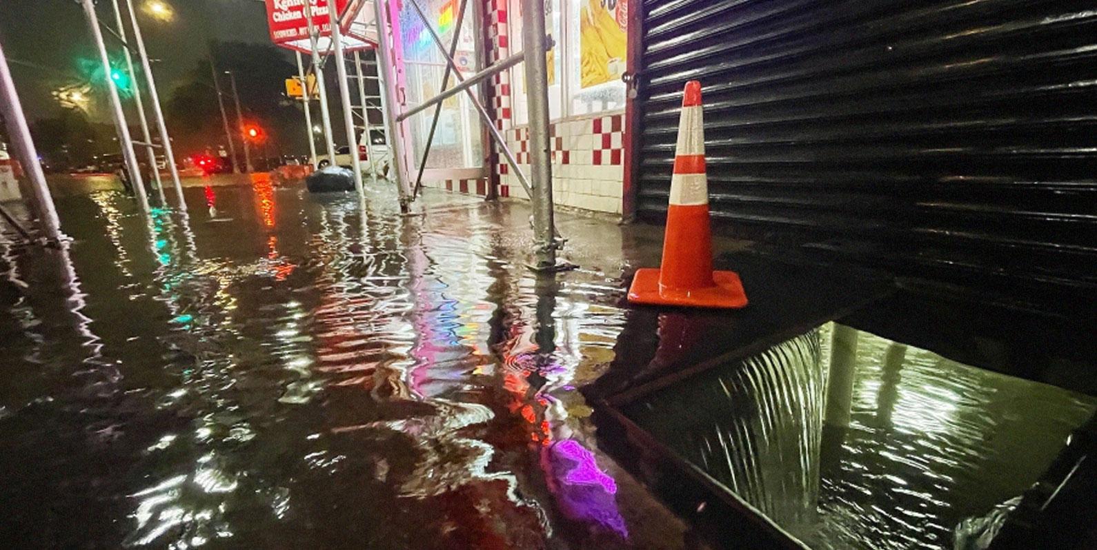 Como o furacão Ida driblou as defesas contra enchentes de Nova York