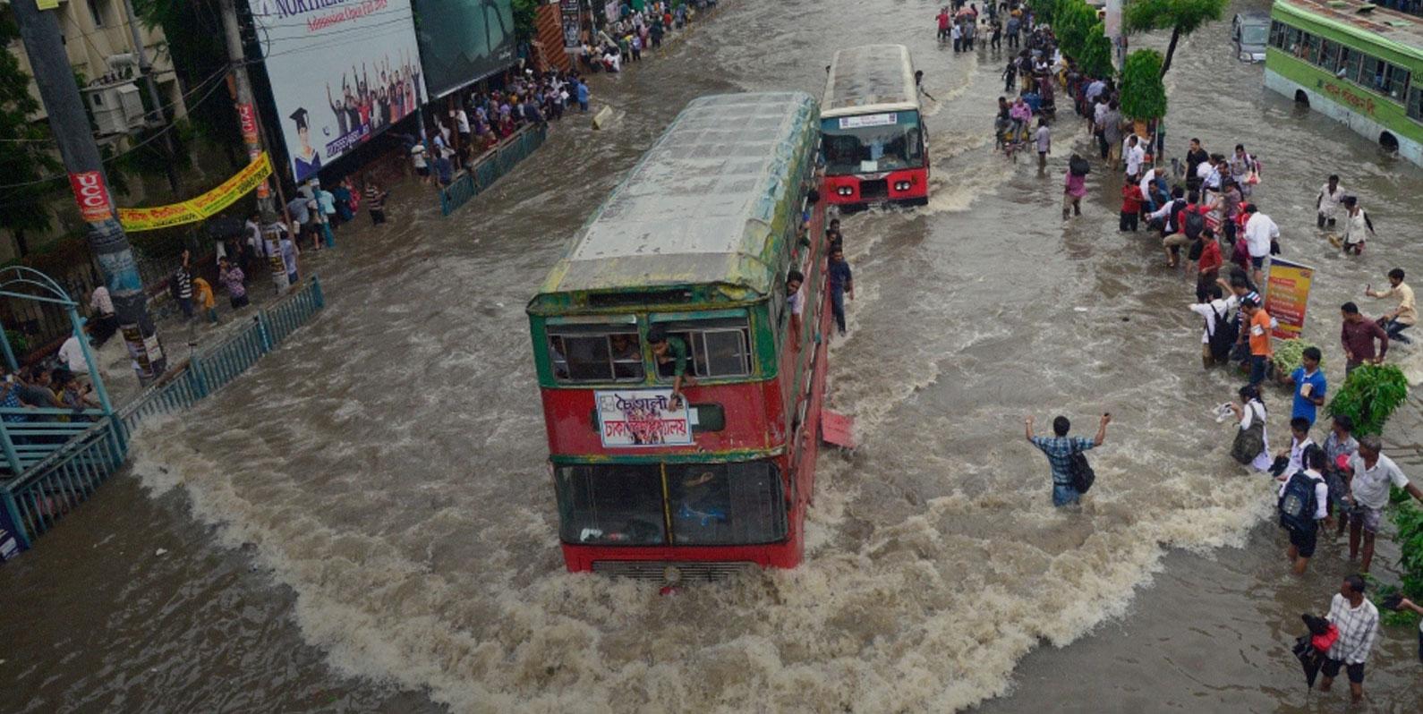 Por que as populações estão crescendo mais rápido em áreas propensas a inundações?